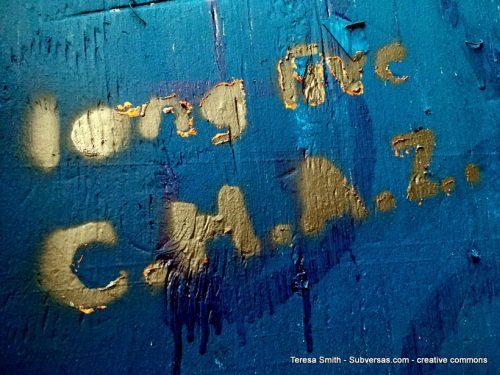 Long Live C.H.A.Z. graffiti