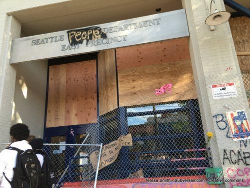 "Seattle ""People's"" Dept. East Precinct"